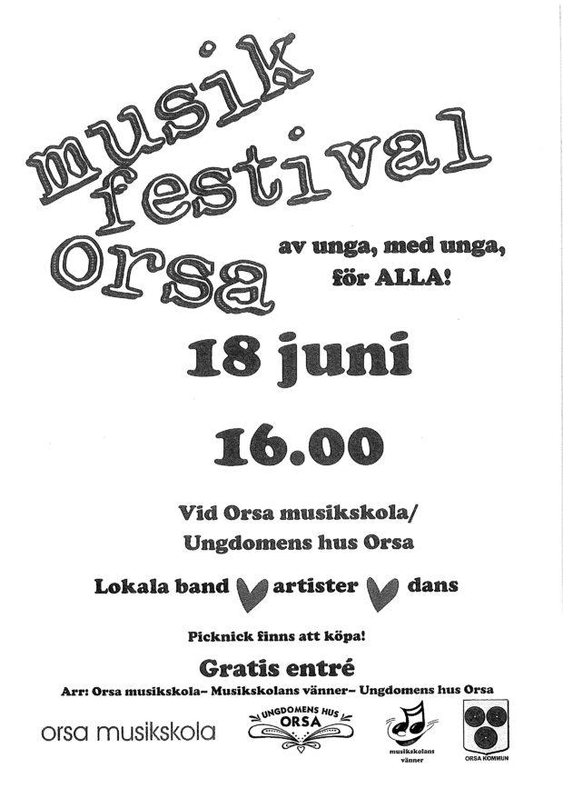 Musikfestival – Orsa